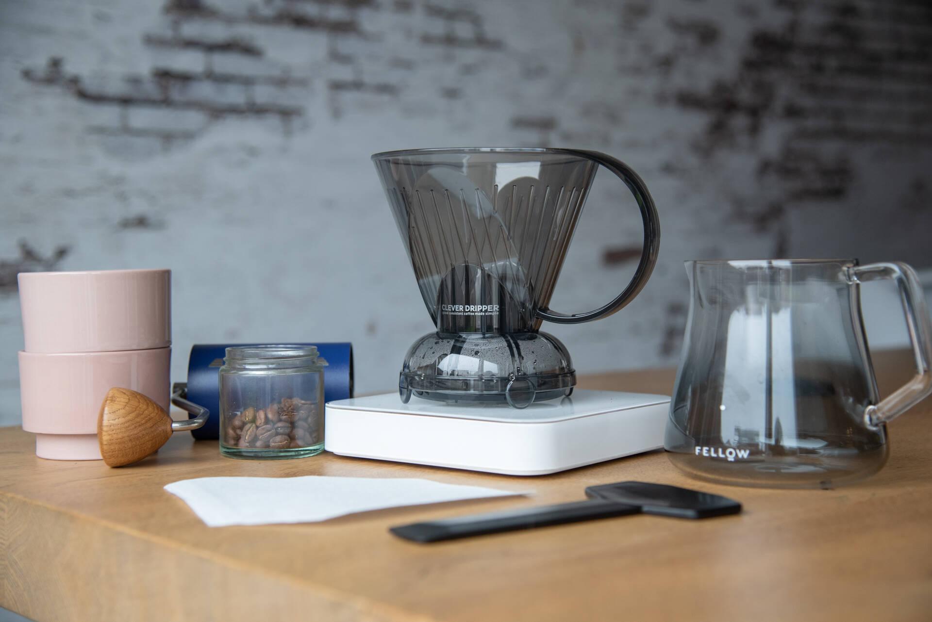 Hoe zet je koffie met een Clever Dripper?