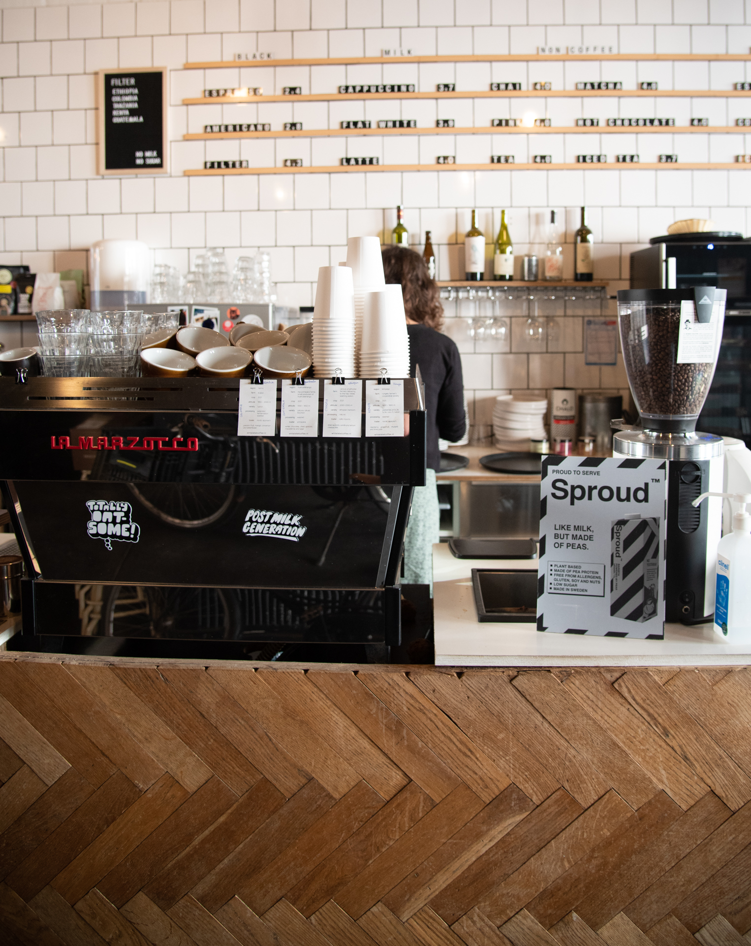 Full Circle Coffee in Gent