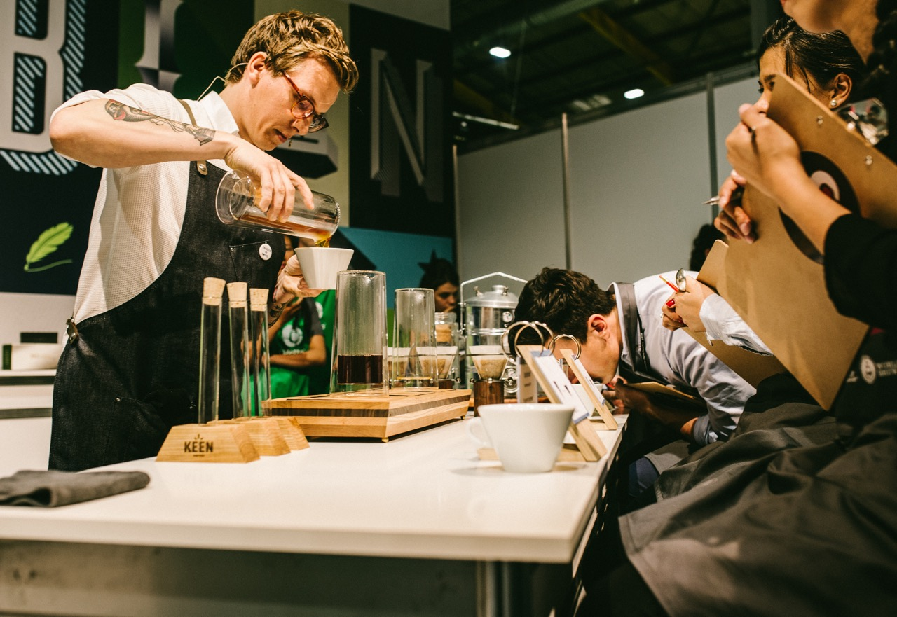 World Brewers Cup 2016 recept van Keen Coffee