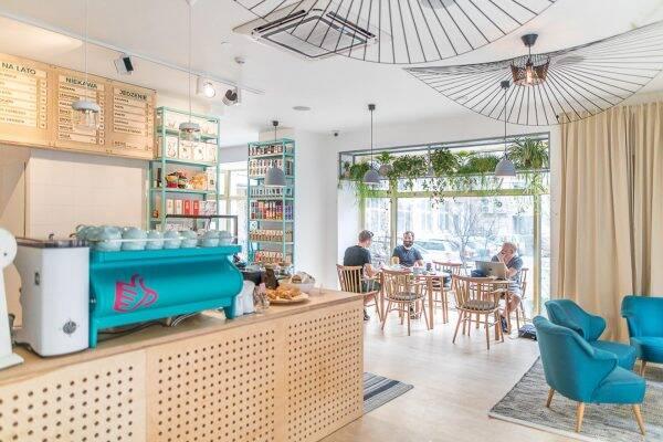 Coffeedesk Kawiarnia – Wilcza 42 Warschau