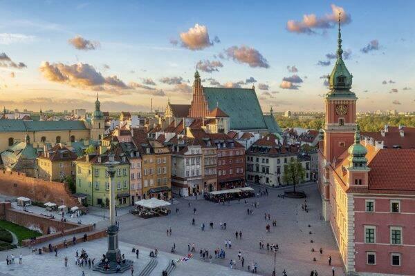 Koffie in Warschau