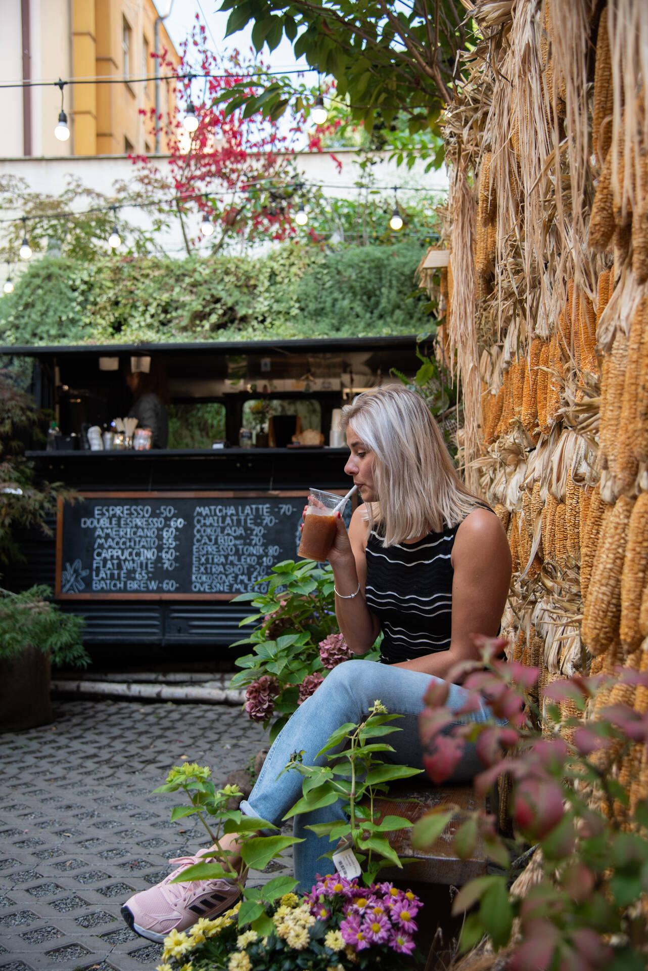 Botanica Coffee Truck in Praag