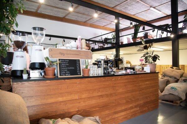 QB coffee roasters Brno