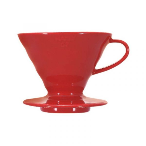 Hario VDC-02R V60 Coffee Dripper 02 Ceramic / Red