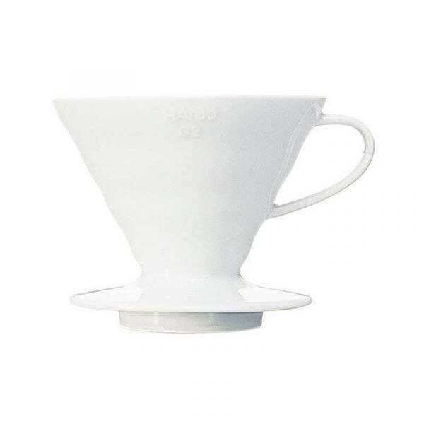 Hario VDC-02W V60 Coffee Dripper 02 Ceramic / White